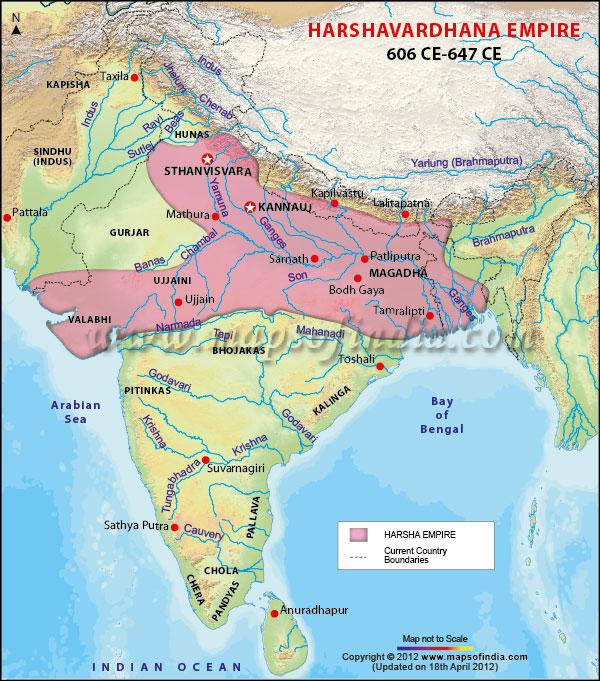 Harshavardhana Empire