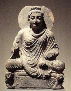 Seated Buddha Gandhara
