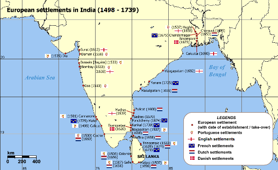 Europeans in India