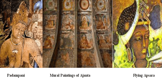 Fresco Paintings Ajanta