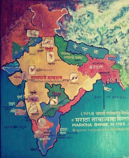 Maratha Empire 1795