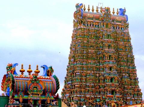 Meenakshi- Sundareswara temple