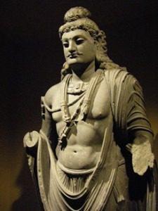 Ghandar bodhisattva