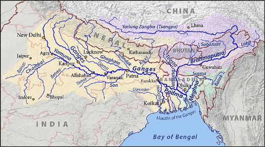 Major Rivers in India Iasmania  Civil Services Preparation Online