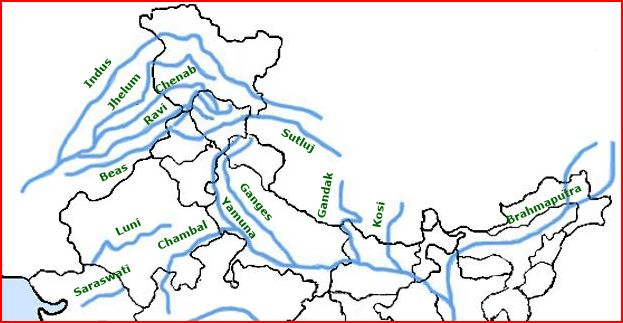 River System of India - Indus River System Iasmania - Civil Services ...