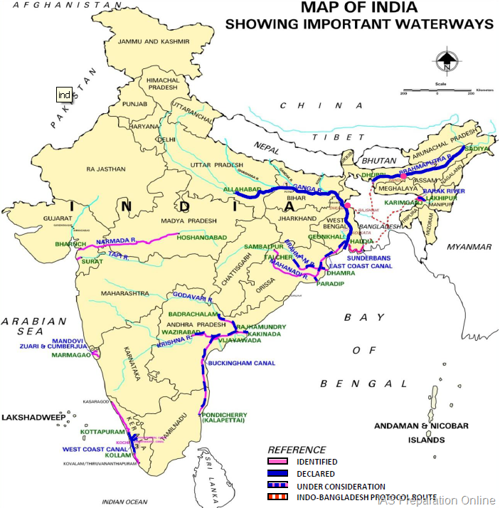 Inland Waterways India