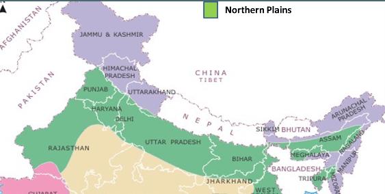North Indian Plain