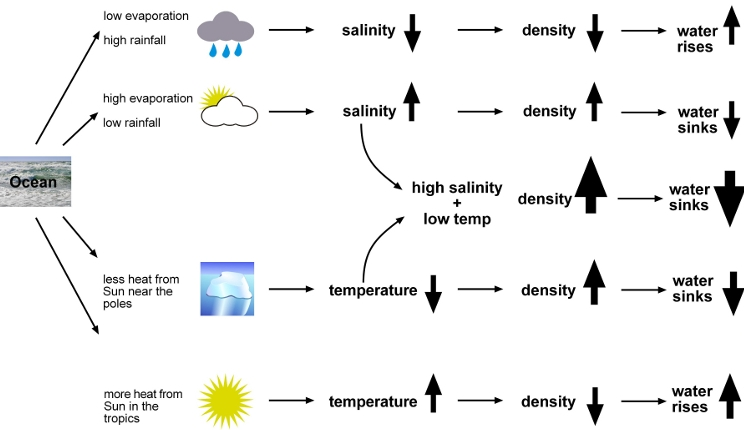 Ocean-salinity-temperature-and-density