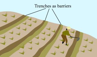 contour barrier