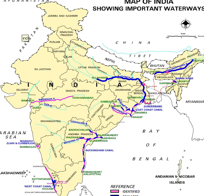 Inland Waterways in India