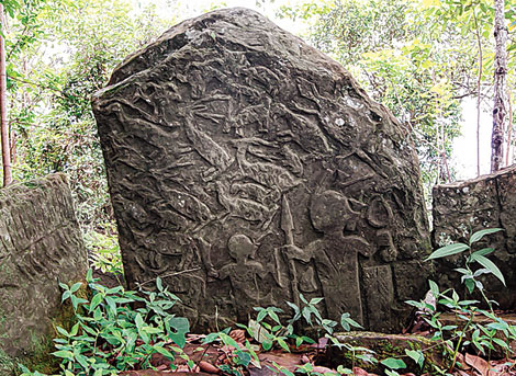 Menhirs sites in Mizoram